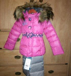Зимний костюм luhta 86 куртка и полукомбинезон