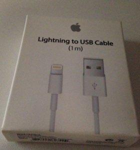 Оригинальный кабель Apple iPhone (lightning) USB