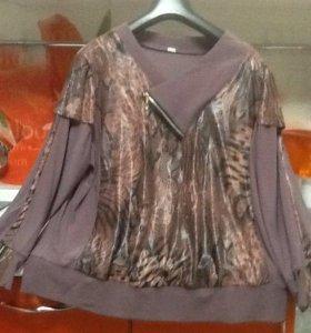 Блуза женская размер 54-56