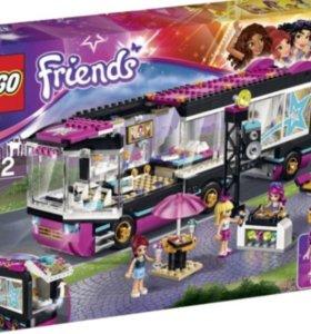 Новый Lego Friends 41106 Поп-звезда: гастроли