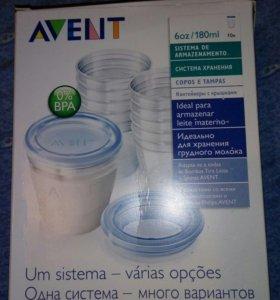Контейнеры для хранения и заморозки грудного молок