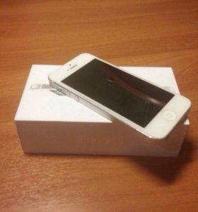 iPhone 5, 16GB, Silver