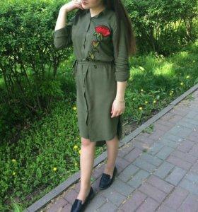 Платье. Платье рубашка
