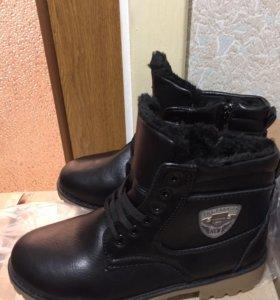 Зимние полусапожки ботинки