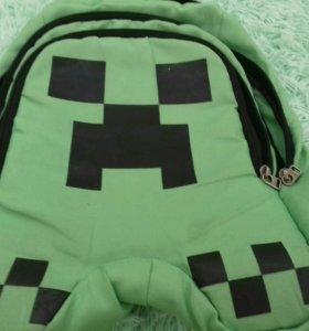 Рюкзак крипер из майнкрафт