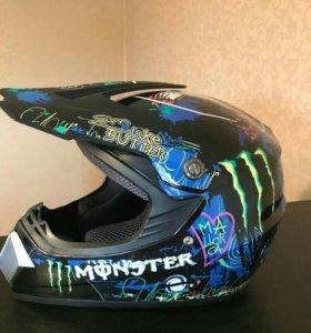 Новый кроссовый шлем