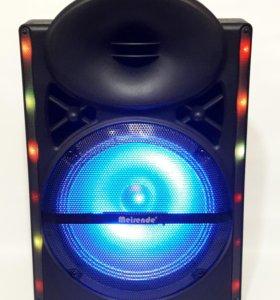 Портативная Bluetooth AUX FM колонка Meirende 103