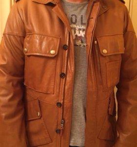 Коженая куртка Ralf Lauren