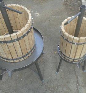 Пресс для винограда/виноделия от 22л и 50л