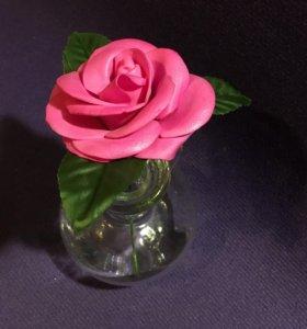 Роза из фоамирана вставки в букеты
