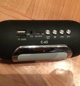 Колонка-Bluetooth