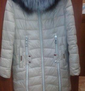 Зимние пальто с натуральным воротником