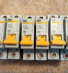Автоматический выключатель IEK BA47-29-16.20.25А.