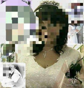 Свадебное платье 50-54