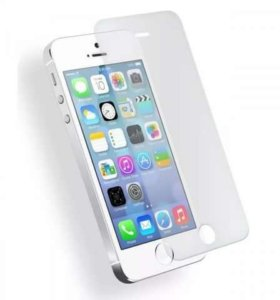 Стекло зашитное iphone 5, 5c, 5s