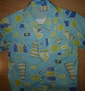 Рубашка р.4(104) в о/с