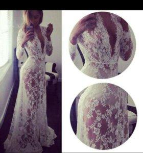 Будуарное платье. Продам. Новое.