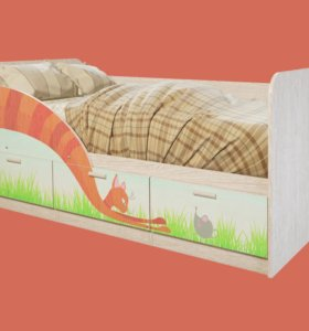 Детская кроватка Сказка (минима)
