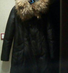 Пуховик зимний 44-48