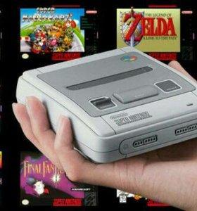 Super Nintendo Mini прошитая+100игр