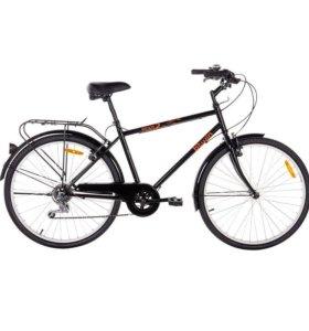 Велосипед elops 2 чёрный