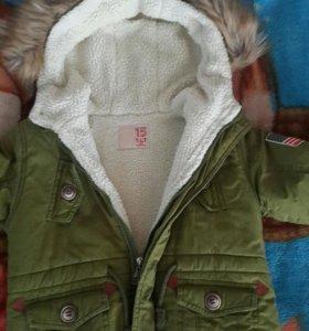 Куртка, на 6-7 лет.