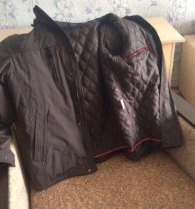 Куртка новая мужская 58 размер