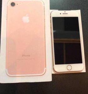 Продам iPhone 7 128 gb Rose Gold