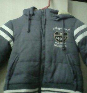 Курточка зимняя размер 80