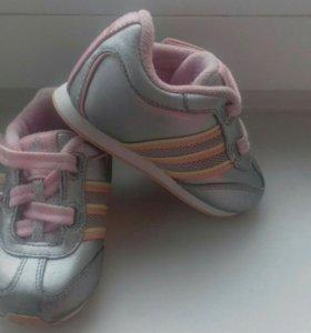Кроссовки 19 р. Adidas