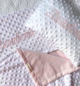 Плед именной и подушка