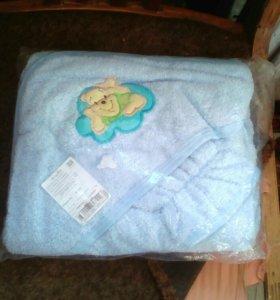 Детское полотенце.