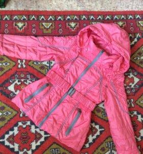 Куртка для девочки🍁🌻🍂🌦р122-134