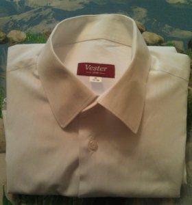 Идеально белая м/рубашка