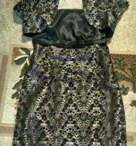 Коктельное платье с жакетом
