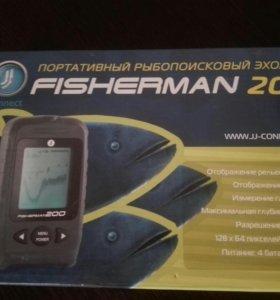 Эхолот fisherman 200