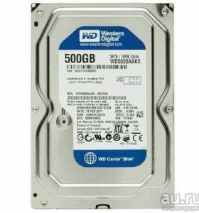 hdd 3,5 wd5000AAKX 500gb sata 7200