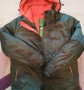 Куртка зимняя подростковая размер 44-46 на рост170