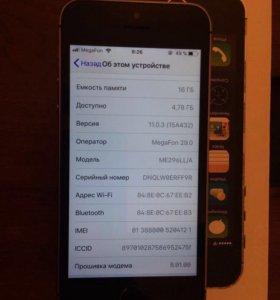 IPhone 5s 16 gb оригинал