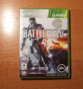 "игра ""BATTLEFIELD 4""для xbox 360"