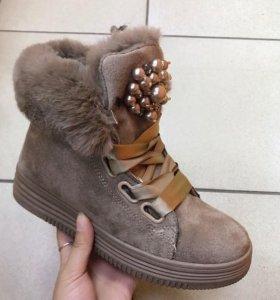 Новые ботинки (зима)