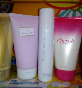Лосьон и дезодорант для тела