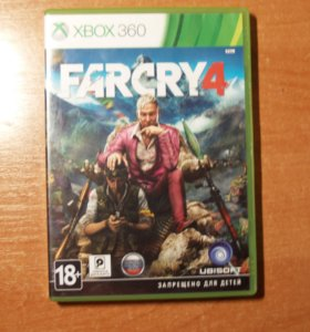 """игра """"FURCRY 4 """" на xbox 360"""