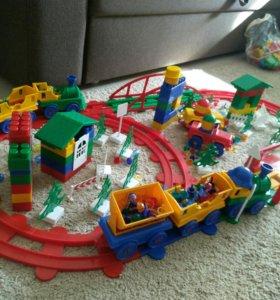 Конструктор Детская железная дорога