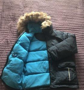 Куртка зимняя рост 140