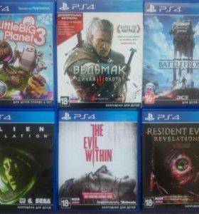 9 игр для PS4