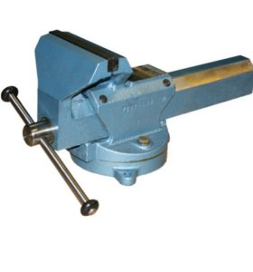 Тиски слесарные с ручным приводом ТСМ-160