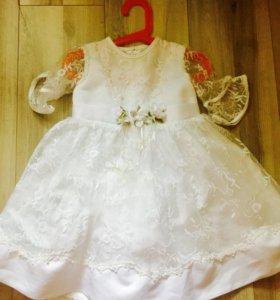 Платье на 3-4 года для празлника