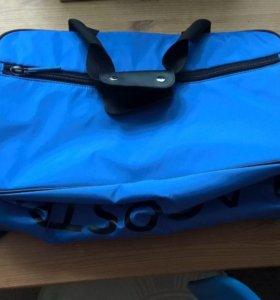 Новая спортивная сумка Lacoste(унисекс)