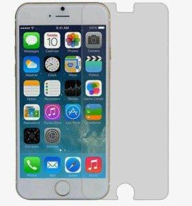 Защитные стекла на iPhone 6+